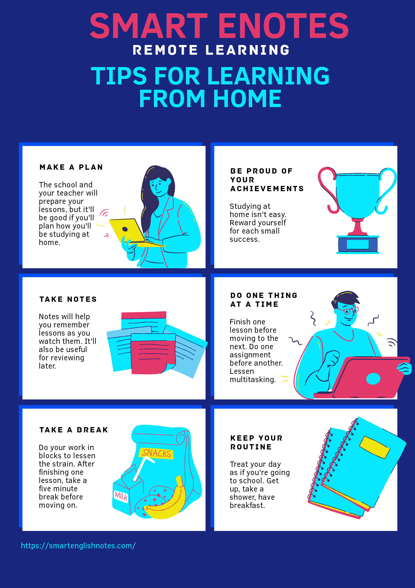 A Student's Guide To Learning From Home 1