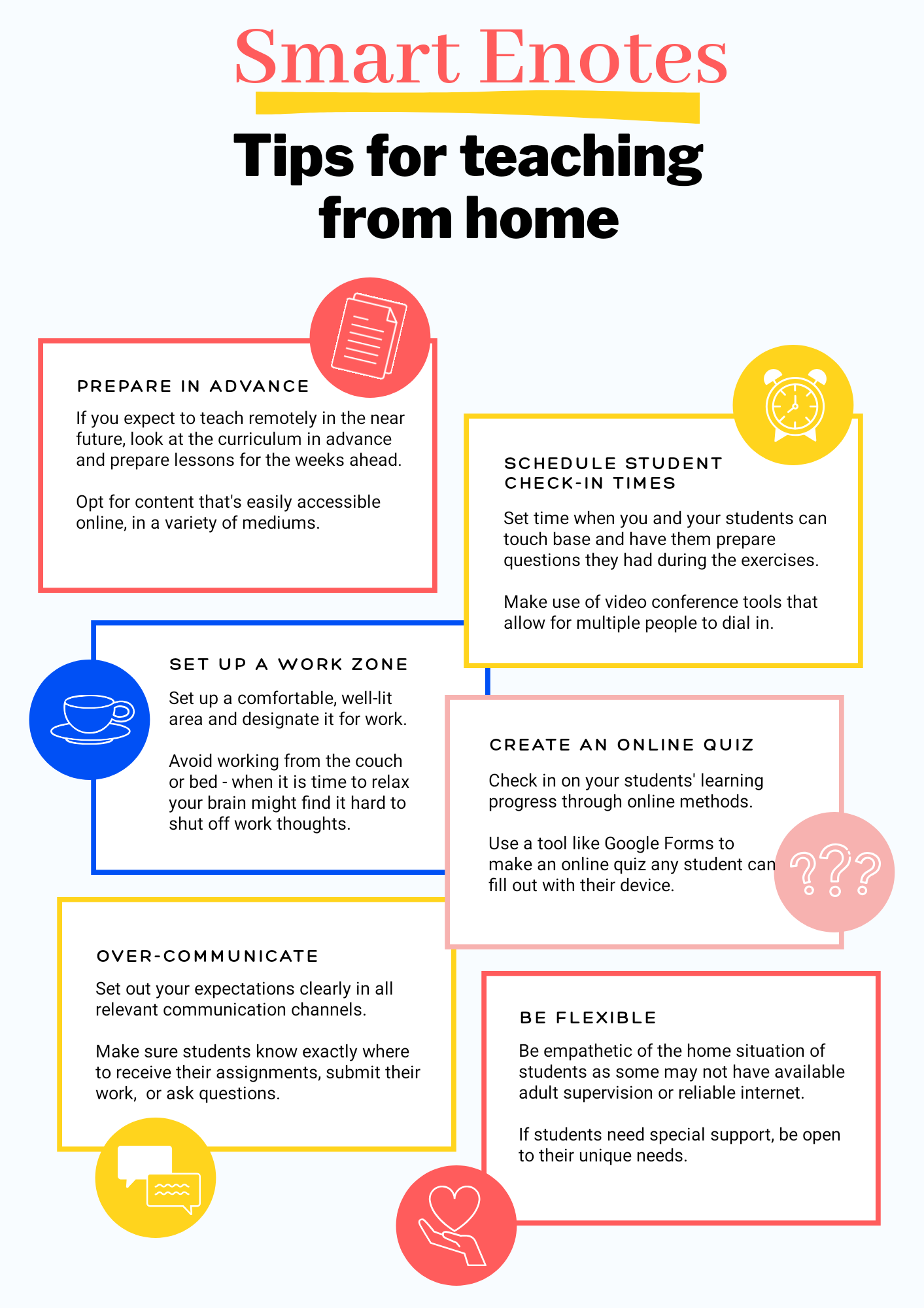 A Student's Guide To Learning From Home 3
